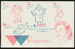 Buvard - VITAPOINTE - Buvards, Protège-cahiers Illustrés