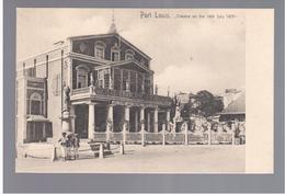 MAURITIUS Port Louis Theatre Ca 1910 OLD POSTCARD 2 Scans - Mauritius