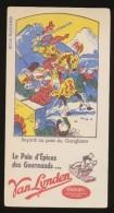Publicite - Buvard - Pain D'Epice - VAN LYNDEN - Buvards, Protège-cahiers Illustrés