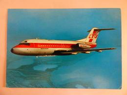 AIRLINE ISSUE / CARTE COMPAGNIE   LTU  FOKKER 28 - 1946-....: Moderne