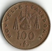 1 Pièce De Monnaie 100  Francs 1987 - Nouvelle-Calédonie