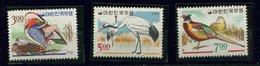 Corée Du Sud ** N° 404 à 406 - Oiseaux - Corée Du Sud