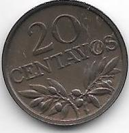 *portugal 20 Centavos 1974 Km 595   Unc - Portugal
