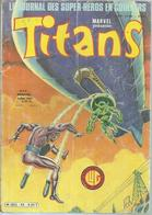 TITANS N° 42 - LA GUERRE DES ETOILES   - 1982 - Titans