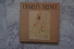 CHARLES TRENET  DOUBLE LP DE 1979 JEAN COCTEAU - Autres - Musique Française