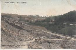 Salm-Château - Route De Bêche - Carte Couleur - Vielsalm