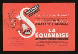 Buvard - Banques-Assurances - LA SEQUANAISE - Bank & Insurance
