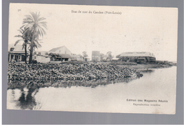 MAURITIUS Port Louis Bras De Mer Du Caudan Ca 1910 OLD POSTCARD 2 Scans - Mauritius