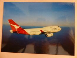 AIRLINE ISSUE / CARTE COMPAGNIE  QANTAS  B 747 400 - 1946-....: Modern Era