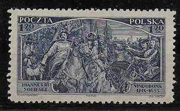 POLOGNE - YVERT N° 367 * CHARNIERE CORRECTE - COTE = 50 EUR. - - 1919-1939 Republic