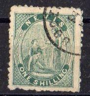 NEVIS ( POSTE ) : Y&T  N°  4   TIMBRE  BIEN  OBLITERE . - St.Christopher, Nevis En Anguilla (...-1980)