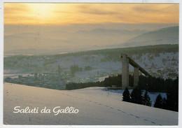 GALLIO  (VI)    SOGGIORNO  ESTIVO  INVERNALE      TRAMONTO     (VIAGGIATA) - Altre Città