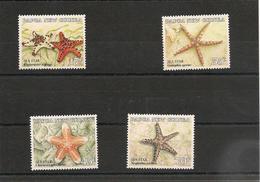 PAPOUASIE Et NOUVELLE GUINÉE Faune Marine Etoiles De Mer Année 1987 N°Y/T : 547/550** - Papouasie-Nouvelle-Guinée