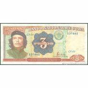 TWN - CUBA 113 - 3 Pesos 1995 Serie CA-06 UNC - Cuba