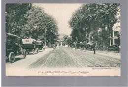 MAURITIUS Port Louis Place D'Armes Ca 1910 OLD POSTCARD 2 Scans - Mauritius