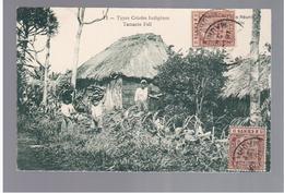 MAURITIUS Types Créoles Indigènes Tamrin Fall Ca 1910 OLD POSTCARD 2 Scans - Mauritius