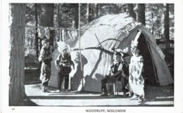 Woodruff Wisconsin - Indiens De L'Amerique Du Nord