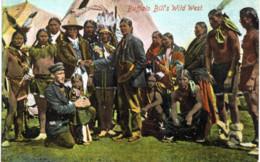 Buffalo Bill S Wild West . - Indiens De L'Amerique Du Nord