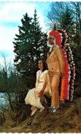 Le Grand Chef Des Hurons Oné-onti ( Max Gros Louis Et Tikanakouen Son épouse. - Indiens De L'Amerique Du Nord