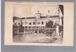 MAURITIUS Port Louis Hotell De Ville Ca 1930 OLD POSTCARD 2 Scans - Mauritius
