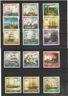 PAPOUASIE Et NOUVELLE GUINÉE Bateaux-Voiliers- Boats Années 1987/88 N°Y/T : 538/42-556/61-575/78**Côte : 40,00 €* - Papouasie-Nouvelle-Guinée