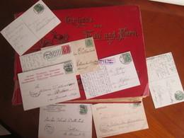 Un Album De Famille  270 Cartes  Diverse Est De La France Et Etranger - 100 - 499 Postkaarten