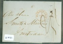 HANDGESCHREVEN BRIEF Uit 1849 Gelopen Van ZIERIKZEE  Naar AMSTERDAM   (11.441) - Paesi Bassi