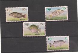 FIJI  Poissons- Fishesl Année  1990 N°Y/T : 617/20** Côte : 15,00 € - Fidji (1970-...)