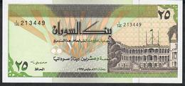 SUDAN P53c 25 DINARS 1992  # I/145  Signature 11   UNC. - Soudan