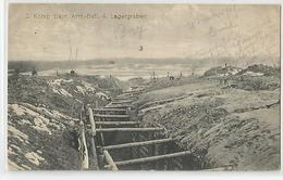 Cpa Guerre 1916 - Komp Bayr Arm Batl 4 , Lagergraben Cachet Militaire Marcophilie - Guerre 1914-18