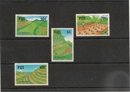 FIJI  Conservation Des Sols Année  1990 N°Y/T : 621/24** - Fidji (1970-...)