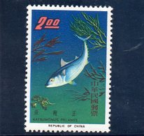 CHINE TAIWAN 1965 ** - Ungebraucht