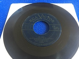 """45 RPM -RCA Victor:: Ralph Flanagan& Orchestra: """"My Hero"""" & """"Tell Me Why"""" - Rock"""