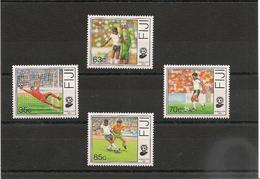 FIJI  SPORT Foot Année  1989 N°Y/T : 607/10** - Fidji (1970-...)
