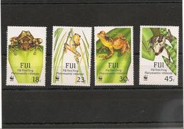 FIJI  Faune Grenouilles/Frogs  Année  1988 N°Y/T : 587/90** Côte: 14,00 € - Fidji (1970-...)