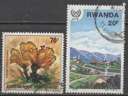 RWANDA  N°947/1253__OBL VOIR SCAN - Rwanda