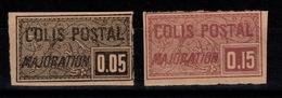 Colis Postaux YV CP 17 & 18 Neuf Sans Gomme NSG MNG Cote 17 Euros - Colis Postaux