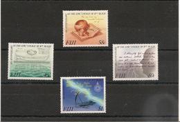 FIJI  Bicentenaire Du Capitaine Bligh ( Mutinerie Du Bounty)  Année  1989 N°Y/T : 599/602** Côte: 13,00 € - Fidji (1970-...)