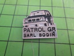 513k Pin's Pins / Beau Et Rare : Thème AUTOMOBILES : 4x4 NISSAN PATROL GR SARL BODIN - Badges