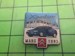513k Pin's Pins / Beau Et Rare : Thème AUTOMOBILES : CITROEN XANTIA MARS 1993 - Citroën