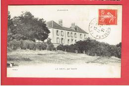 LE BROC PAR ISSOIRE 1927 CARTE EN TRES BON ETAT - Francia