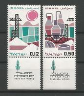 Israel 1965 Dead Sea Works Y.T. 292/293 ** - Israel