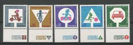 Israel 1966 Traffic Prevention Y.T. 308/312 ** - Israel