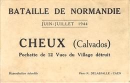 Juin-Juillet 1944- Bataille De Normandie - CHEUX ( Calvados )  Village Détruit - Otros Municipios