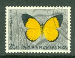 Papua New Guinea: 1966/67   Butterflies - Decimal Currency    SG89    25c     Used - Papua-Neuguinea