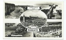 Kent Margate Multiview Postcard Rp  Excel Series - Margate