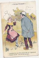 ***  Illustrateur  *** E.H.GALRY - Ces Bons Normands - J'voudrai Ben ...  .. TB  écrite - Illustrators & Photographers