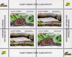 Northern Cyprus - 2018 - Protected Animals - Reptiles - Mint Souvenir Sheet - Cyprus (Turkije)