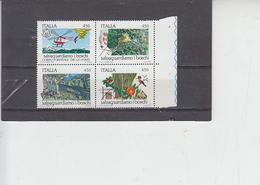 ITALIA  1984 - Sassone 1673/6 - Salvaguardia Natura - Protezione Dell'Ambiente & Clima