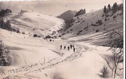 Carte 1950 BOGEVE / LE TELESKI ET LA PISTE DES ROTYS (ski) - France